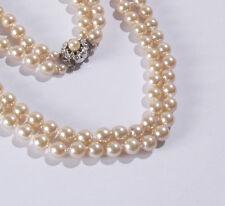 Markenlose Modeschmuck-Halsketten & -Anhänger aus Perlen mit Strass