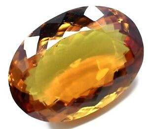 Natural DIASPORE 39.35 Ct Color Change Oval Cut Rare Found CERTIFIED Gemstone