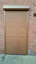 Security aluminium Roller Shutter, Remote controlled, Door Roller Shutter, 39 mm
