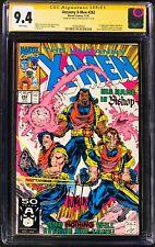 The Uncanny X-Men (1991) #282 CGC 9.4 Signature Series Signed By Whilce Portacio