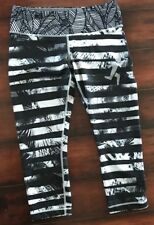 ⭐RARE⭐HTF⭐️️SOLD OUT⭐️ SEXY SHADY PALM/ZEBRA WUNDER UNDER  Crop/Pant - 8
