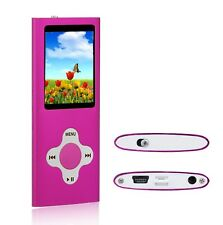 MP3 Player Music Media 8GB With Radio, Voice Recorder, Games 4th Gen
