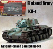 KV-1E heavy tank (Finnish Army)  1:72 Easy Model assembled