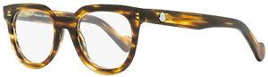Moncler Oval Eyeglasses ML5005 045 Brown Melange 47mm 5005