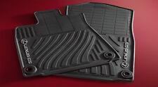 Lexus Genuine GS350 GS450H All Season Floor Mat Set Black 2013-2017 RWD NEW