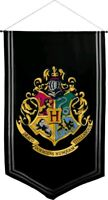 Harry Potter - Hogwarts Satin Banner-115cm x 70cm-Ikon Collectables