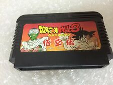 Dragon Ball 3 Goku Den Famicom Japan Bandai Nintendo Family Computer