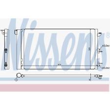 Kondensator Klimaanlage - Nissens 94670