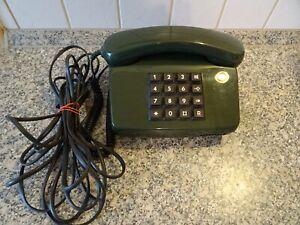 Altes Tasten Telefon der Post Grün