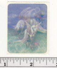 Small Vintage Acard Stickermania Unicorn Pegasus Glossy Sticker