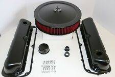 SB Ford Black Engine Dress Up Kit Valve Covers Washable Air Cleaner SBF 289 302