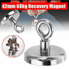 FISHING MAGNET 148 LB Super Strong Neodymium Round Thick Eyebolt Treasure Hunt