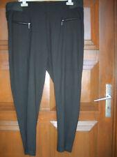 Pantalon YESSICA noir T 50/ 52 comme neuf polyester/viscose/élasthanne