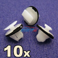 10x Wheel arch surround trim clips for Nissan Juke & X-Trail- Wing moulding clip