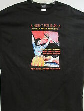 NEW - NIGHT FOR GLORIA NEIL YOUNG CHILI PEPPERS CONCERT T-SHIRT 2XL / X X LARGE