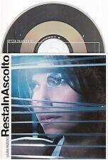 LAURA PAUSINI resta in ascolto CD PROMO card sleeve