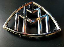 Original Maybach Emblem Abzeichen Plakette Chrom