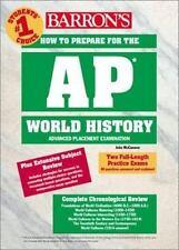 How to Prepare for the AP World History (Barron's AP World History) McCannon, J