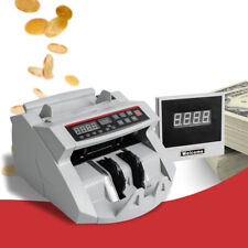 Money Bill Currency Counters Counting Machine Counterfeit Detector Mg Cash