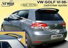 SPOILER REAR ROOF VW VOLKSWAGEN GOLF 6 VI MK6 WING ACCESSORIES