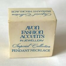 Original box sleeve  - Avon fashion Accents Imperial Collection pendant necklace