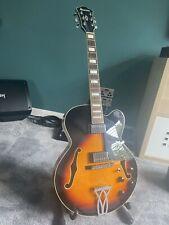 More details for ibanez artcore af 75 bs hollow body jazz guitar