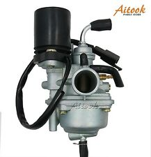 Carburetor Crab 2-Stroke  Dinli 50cc 70cc 90cc 100cc 110cc ATV Electric chock