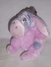 DISNEY WORLD PARKS Plush BABY EEYORE Pink Blue Purple RATTLES Pooh Stuffed