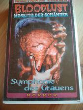 VHS Rarität: BLOODLUST - MOSKITO DER SCHÄNDER (1977)