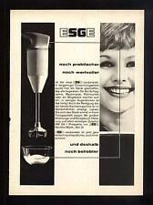 3w45/ Alte Reklame - ca. 1960 - ESGE Küchengeräte - noch beliebter