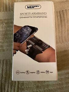 "VUP Sports Armband Universal For Smartphones- 360° Rotatable 4""-6.5"""
