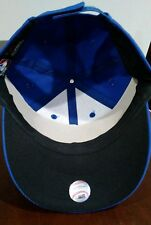 "New Adult Twill MLB New York Mets Blue/Orange Home ""NY"" Cap Hat -PMJS"