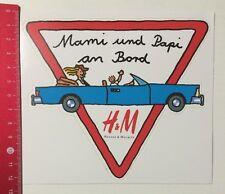 Aufkleber/Sticker: Mami Und Papi An Bord - H&M Hennes & Mauritz (050516178)