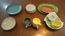 Vintage Melamine Dishes & Serving Pieces. Melmac Dinnerware  21 Pieces