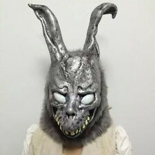 Halloween Donnie Darko FRANK Bunny Rabbit Cosplay Hooded Mask W/Fur Men Womens G