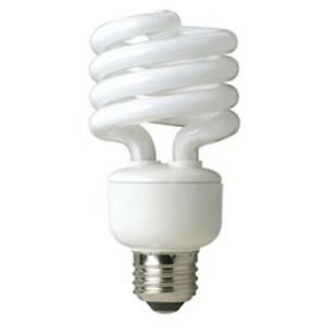TCP E26 CFL Compact Fluorescent Twist Light Lamp Spiral 23W 4100K = 100W 23586