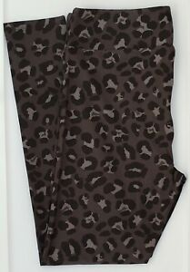 TC LuLaRoe Tall & Curvy Leggings Gray Black Cheetah Print Camouflage NWT F34