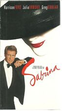 Sabrina (VHS, 1996 Paramount Presentations) NEW FACTORY SEALED HARRISON FORN NOS