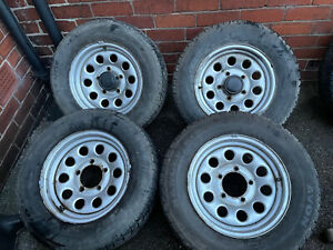 Suzuki Jimny 98-18 Standard Rims With Tyres 5mm Complete Set 4 Off Off Road