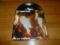 """THE PRIMITIVES - You Are The Way - 1991 UK solid centre 7"""" vinyl single"""