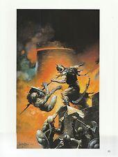 "1975 full Color Plate /"" The Death Dealer Detail/"" by Frank Frazetta Fantastic GGA"