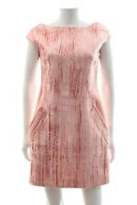 Topshop Unique 'Mayall' Crushed Velvet Dress / Pink / RRP: £225.00