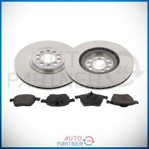 Brake Discs Pads For VW Golf 4 1.8T Jubilee Ø12 9/32in Brake Set Front Axle Fa