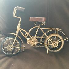 Industrial Looking Bicycle Mantle or Shelf Home Decor