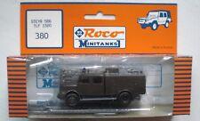 Roco Minitanks STEYR 586 TLF 1500 MILITARY FIRE ENGINE W/Access.#380 disc. MIP