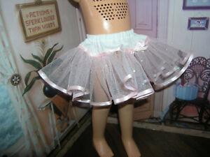 "Pink Sparkle Nylon Net Slip Petticoat 25"" Doll clothes fits Mattel Charmin Cathy"