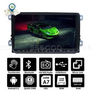 "9"" AUTORADIO Stéréo Android GPS NAVI RDS For VW GOLF 5 6 Passat Touran Polo EOS"