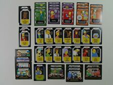 The Simpsons Trading Card Game Lot of 44 Including FOIL Duffman Vintage RPG Toy