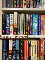 Mystery/Thriller Novels Lot of 20 Paperback Books, RANDOM/MIX