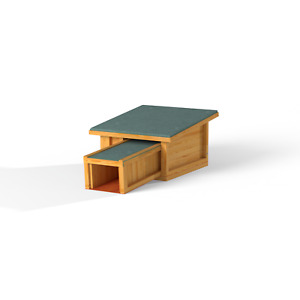 Deluxe Predator Proof Hedgehog House Hibernation Shelter Garden Outdoor Nest Box